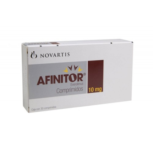 Buy Afinitor 10mg Online Novartis Everolimus 10mg